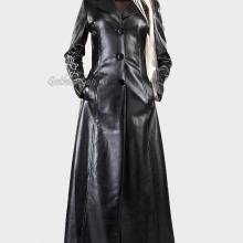 кожаное готическое пальто